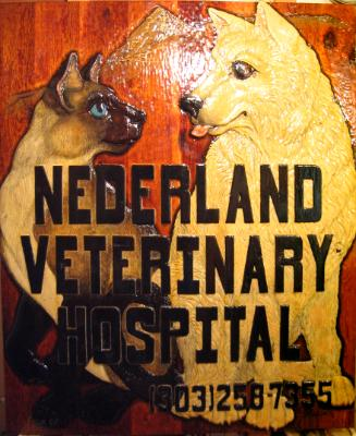 Nederland Vet Relief Sign