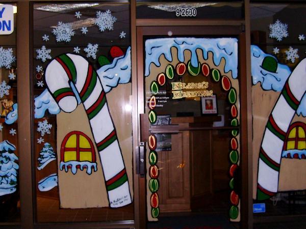 Ginger bread door house