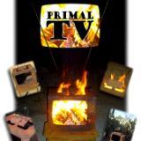 The Primal TV Fire Sculpture