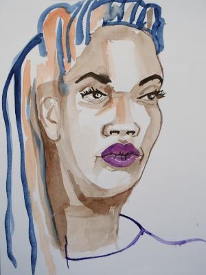 Melissa, Frontal Portrait 2