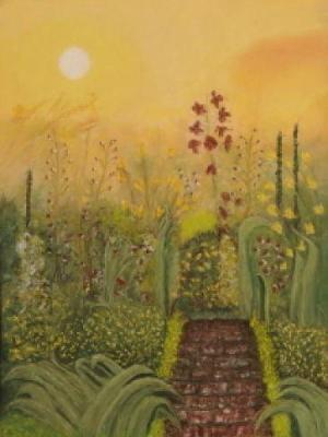 Dream Garden 18 x 21 1/2