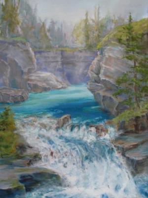 Johnson Canyon Falls, Banff
