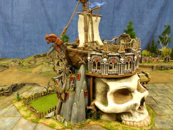 WHFB Skull Ship Inn