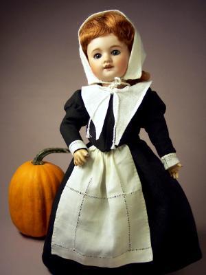 Bleuette as Mayflower Pilgrim