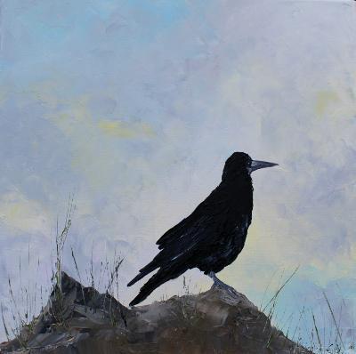 Crow at Tara