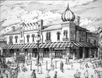 Commission of Sanford's historic Pico Building