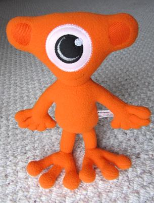 Plush Persy Orange 1