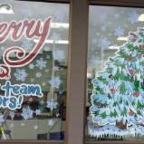 Snowmen decor tree