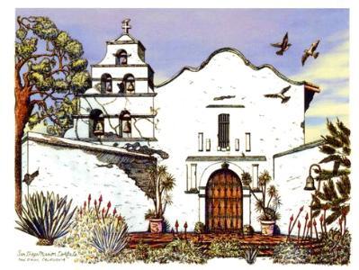 San Diego Mission de Alcala