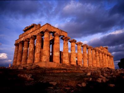 Greek Temple, Selinunte, Sicily