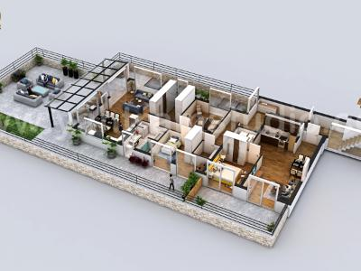 Best 3D Home Floor Plan Design by Yantram, Holladay –Utah