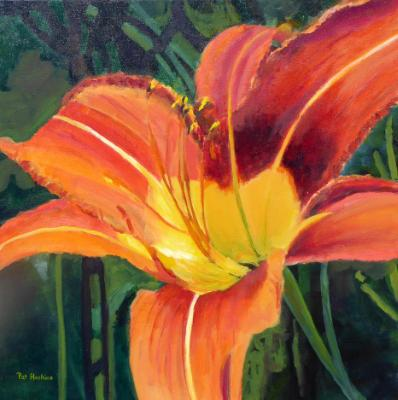 Orange and Yellow Day Lily SOLD
