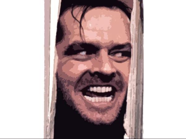 Jack Nicholson Shining jack nicholson the shining - dave copping