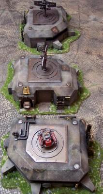 3 Bunkers