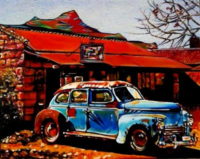Chevy And A Shack (Clarens)