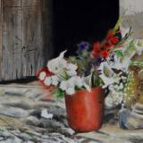 Spring flowers, 38cm x 28cm, 2021