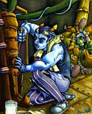 Equius Watercolor