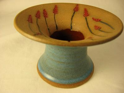 110411.A Asian Vase with Wheat Carving