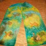 Misc - Silk Scarves, Horseshoe Nail Art