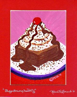 Fudge Brownie Dessert