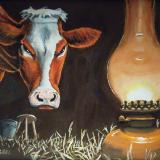 Mrs. O'Leary's Cow Realizes How She Can End the Carnage in Chicago's Slaughterhouses