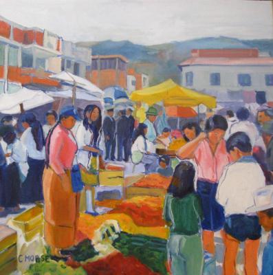 Ecuador Market, Otavalo