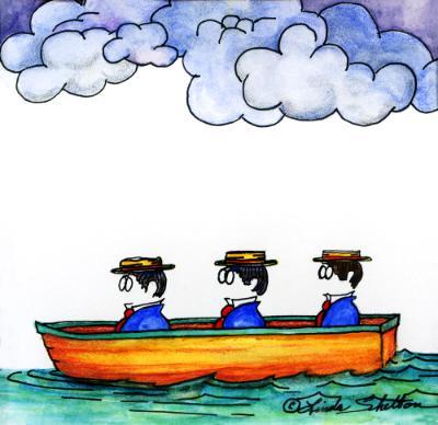 THREE MEN IN A BOAT #2: OVERCAST