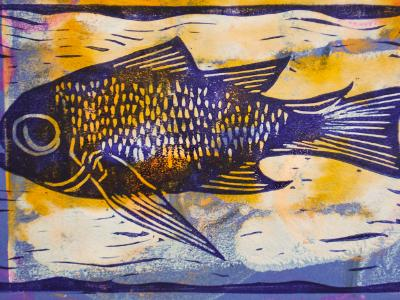 Fish (Blue/Yellow)
