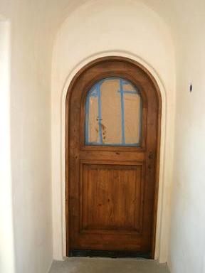 Decorative Finish on Doors