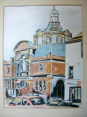 Methodist church, St Sidwell Street, Exeter
