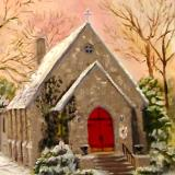 Christ Chapel in Snow