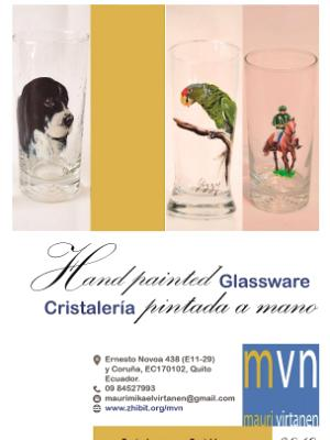 Catalogue of MVN Hand painted glassware 2019