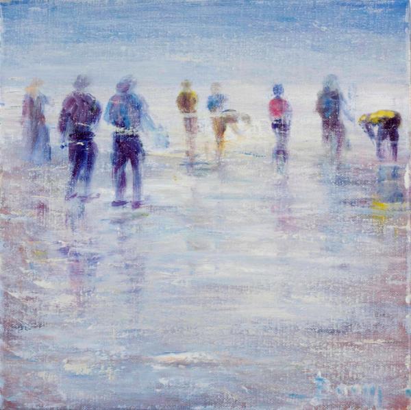 On the Salt Flats -  SOLD