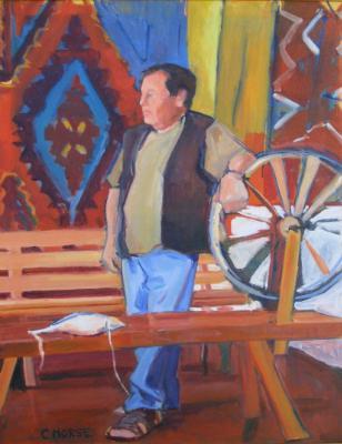 Zapotec Weaver