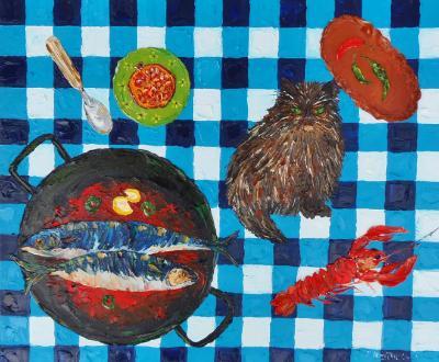 Mackerel with tomato & chilli (unavailable)