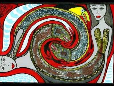 Ladies with Eels