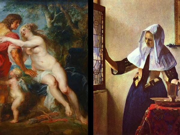 Ruben and Vermeer Painting