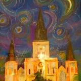 Starry Nights over Jackson Square