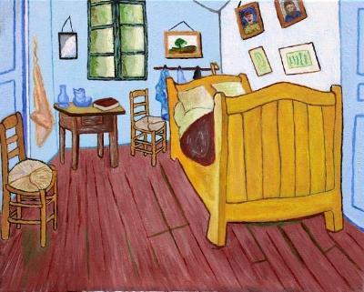 Van Gogh - Artist's Bedroom at Arles