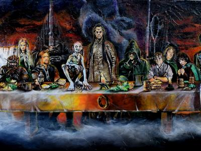 Lord of the Rings / Last Supper Parody