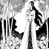Princess in the Woods