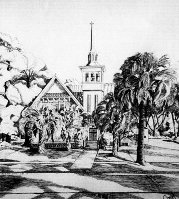 Commission for First Congregational Church, Orange City, Florida