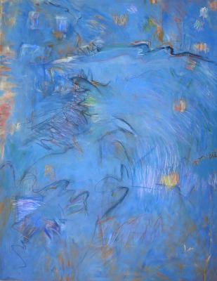 Ascending Blue