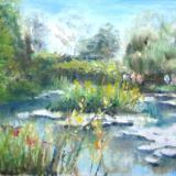 Monet's Garden - Today - SOLD