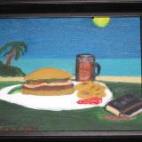 American Primitive Burger