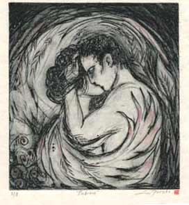 Embrace Limited Edition solar etching