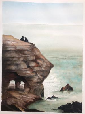 Sunset Cliffs, Late Afternoin