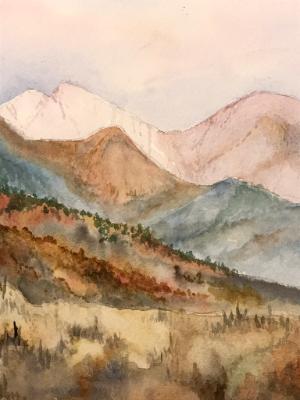 Boundary Peak from Mammoth