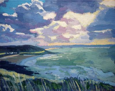 Overlooking Croyde Bay