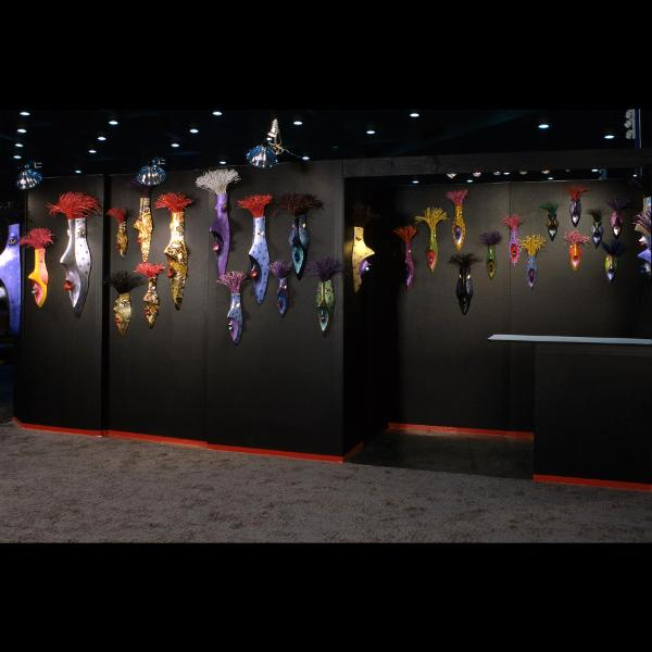 Photograph of Dream Mask display